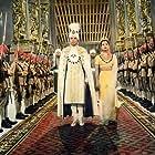 Debra Paget and Walther Reyer in Das indische Grabmal (1959)