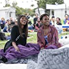 Yvonne Orji and Issa Rae in Insecure (2016)