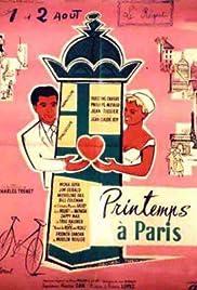 Springtime in Paris Poster