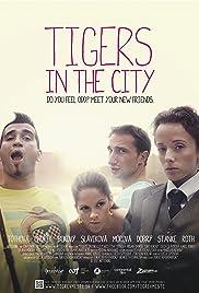 Tigre v meste Poster
