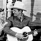 Gene Autry and Gail Davis in Cow Town (1950)