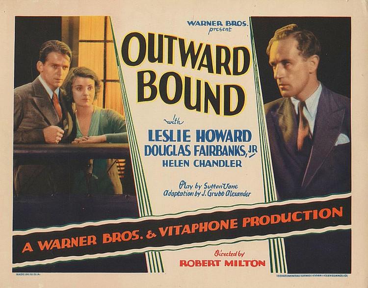Douglas Fairbanks Jr., Leslie Howard, and Helen Chandler in Outward Bound (1930)