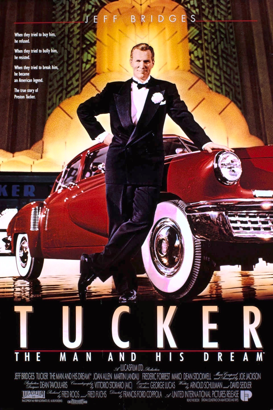 Tucker The Man And His Dream 1988 Imdb