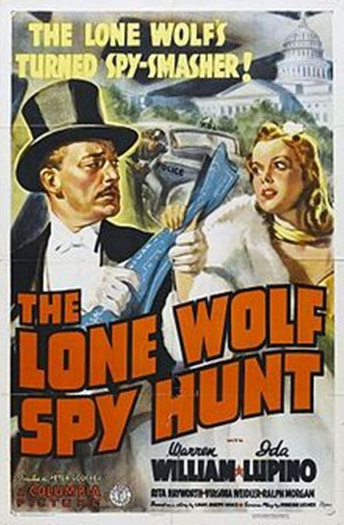 Ida Lupino and Warren William in The Lone Wolf Spy Hunt (1939)
