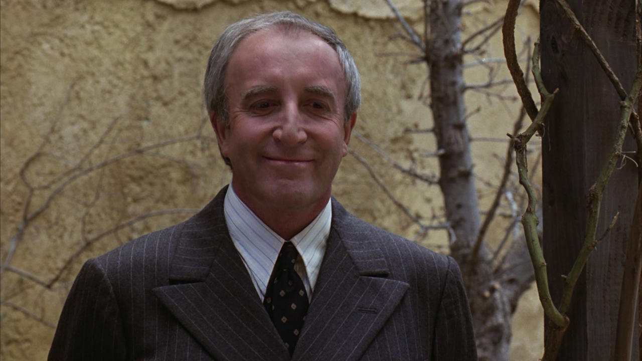 Peter Sellers in Being There 1979