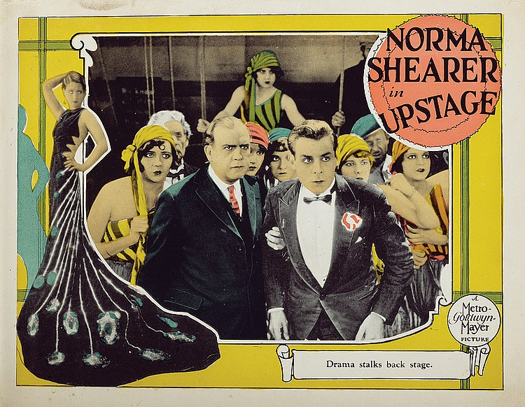 Tenen Holtz, Gwen Lee, Dorothy Phillips, Oscar Shaw, and Norma Shearer in Upstage (1926)