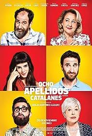 Rosa Maria Sardà, Karra Elejalde, Carmen Machi, Clara Lago, Berto Romero, and Dani Rovira in Ocho apellidos catalanes (2015)