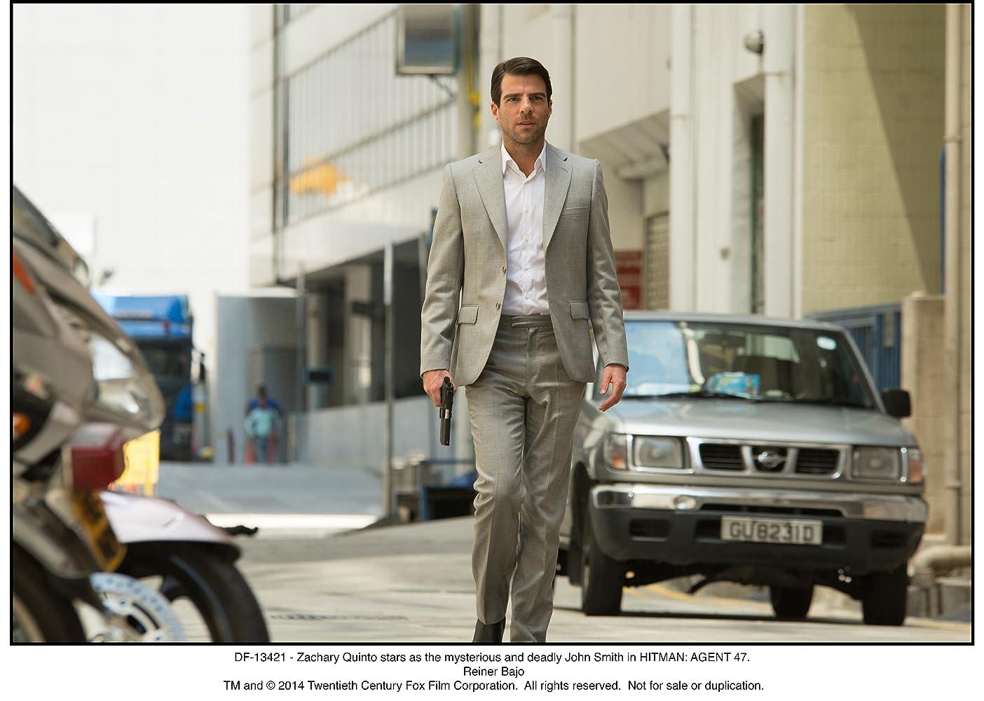 Zachary Quinto in Hitman: Agent 47 (2015)