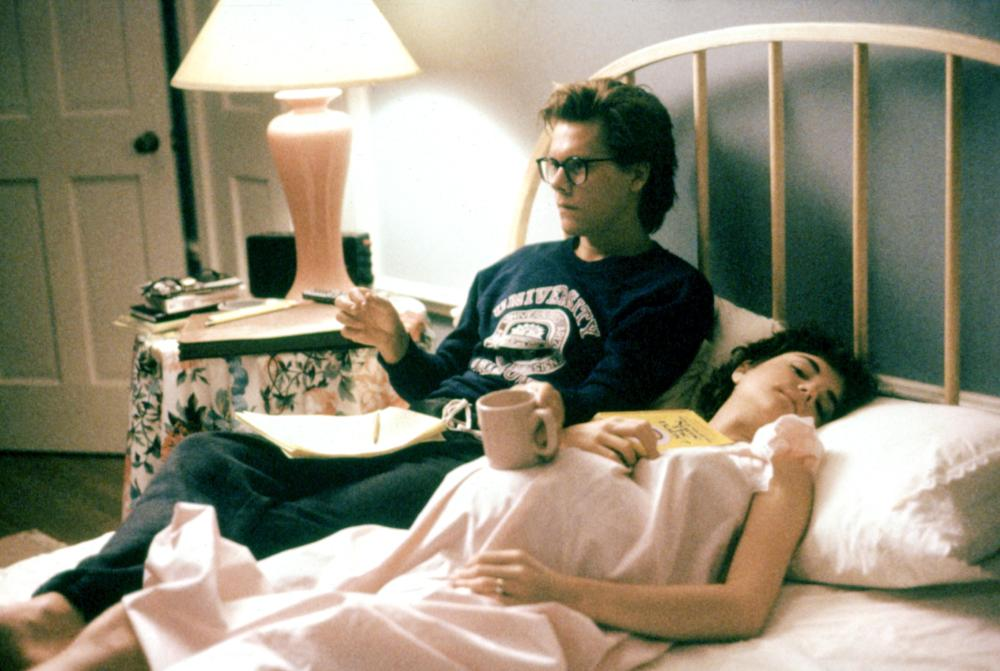 Kevin Bacon and Elizabeth McGovern in Shes Having a Baby 1988