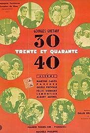Trente et quarante Poster
