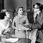 Peter Finch, Kay Kendall, and Muriel Pavlow in Simon and Laura (1955)
