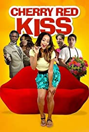 Cherry Red Kiss Poster
