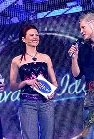 Predrag Suka and Nikolina Bozic in Idol winner 2005 (2005)