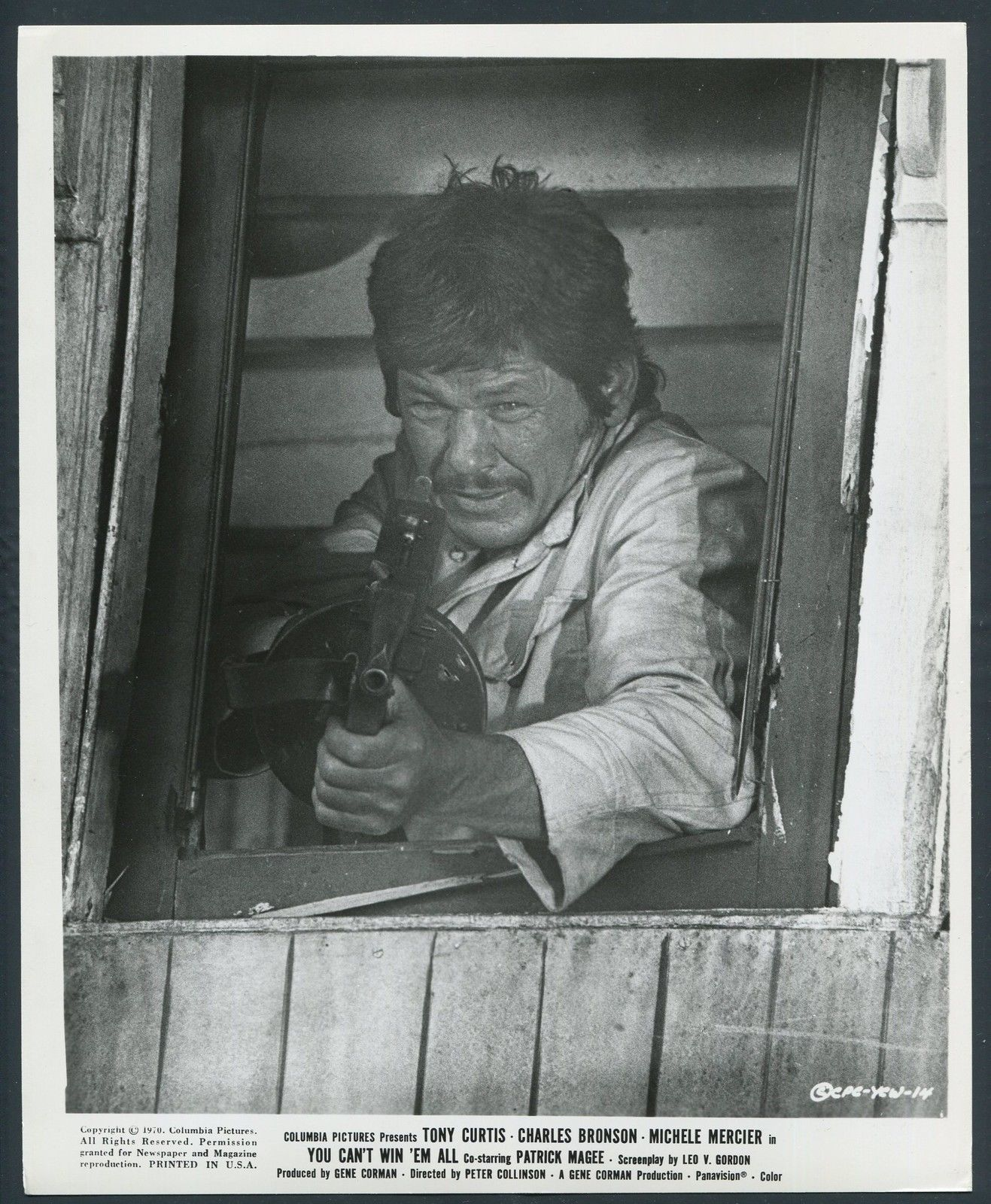 Charles Bronson in You Can't Win 'Em All (1970)