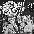 Eddie Foy Jr., Jane Frazee, Betty Kean, and Dennis O'Keefe in Moonlight Masquerade (1942)