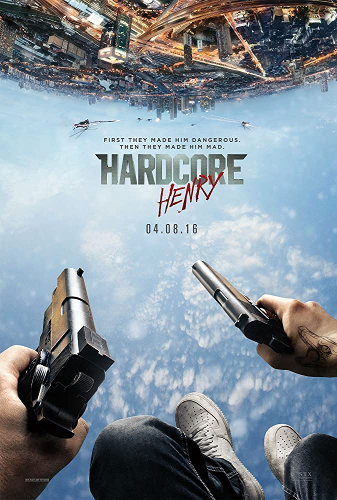 18+ Hardcore Henry 2016 English 300MB BRRip 480p Full Movie