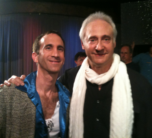 "With Brent Spiner on the set of ""Fresh Hell"""
