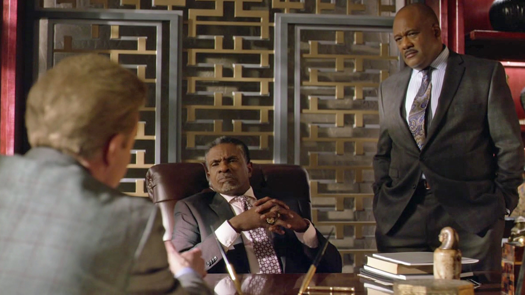 Keith David, Gregory Alan Williams and DeVere Jehl in Greenleaf