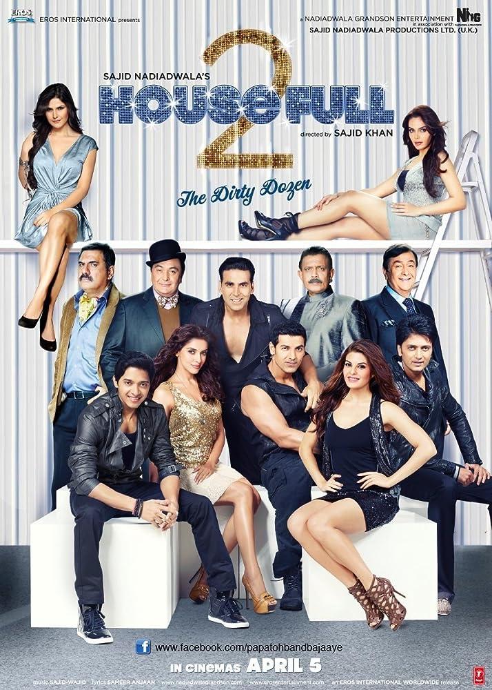 Housefull 2 2012 Hindi 720p BluRay 1.1GB ESubs Download