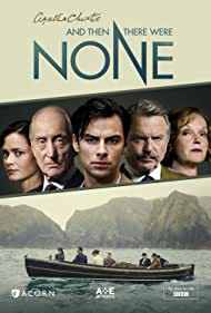Sam Neill, Charles Dance, Miranda Richardson, Maeve Dermody, and Aidan Turner in And Then There Were None (2015)