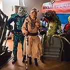 Brad Proctor, Alex Zahara, Dan Payne, and Tristan Risk in Aliens Ate My Homework (2018)