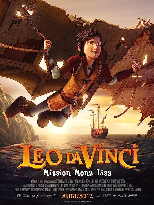 Leo Da Vinci: Mission Mona Lisa (2018) Hindi Dubbed