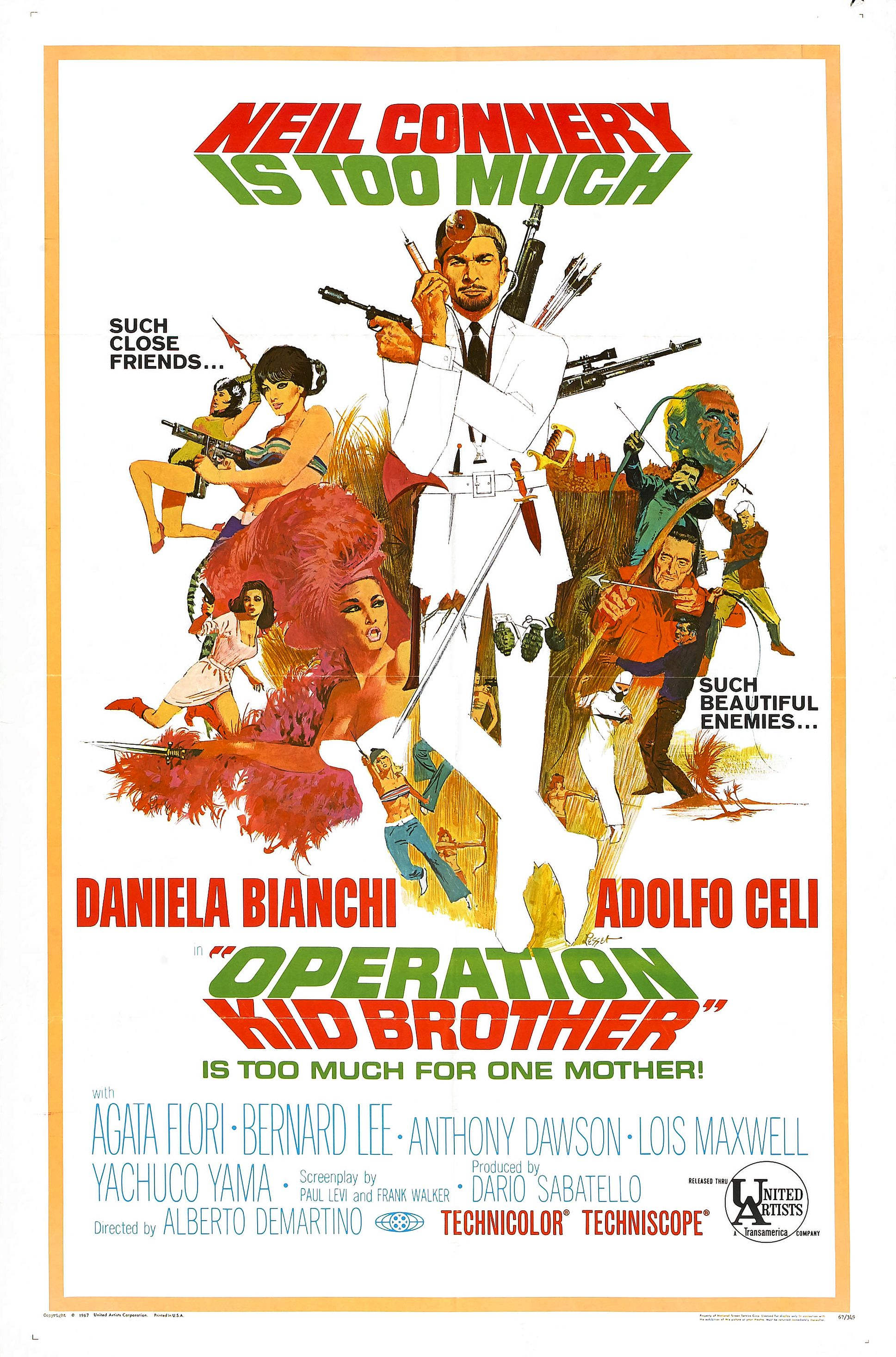 Operation Kid Brother (1967) - IMDb