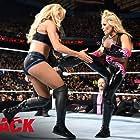 Bret Hart, Natalya Neidhart, and Ashley Fliehr in WWE Payback (2016)