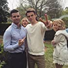 Daniel Gillies, Nathaniel Buzolic, Claire Holt, and Riley Voelkel in The Originals (2013)