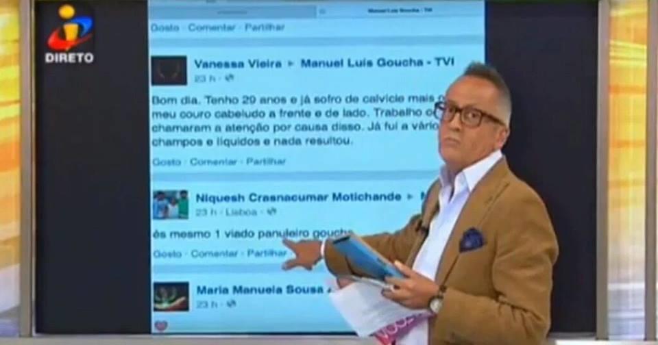 Manuel Luís Goucha in Você na TV! (2004)