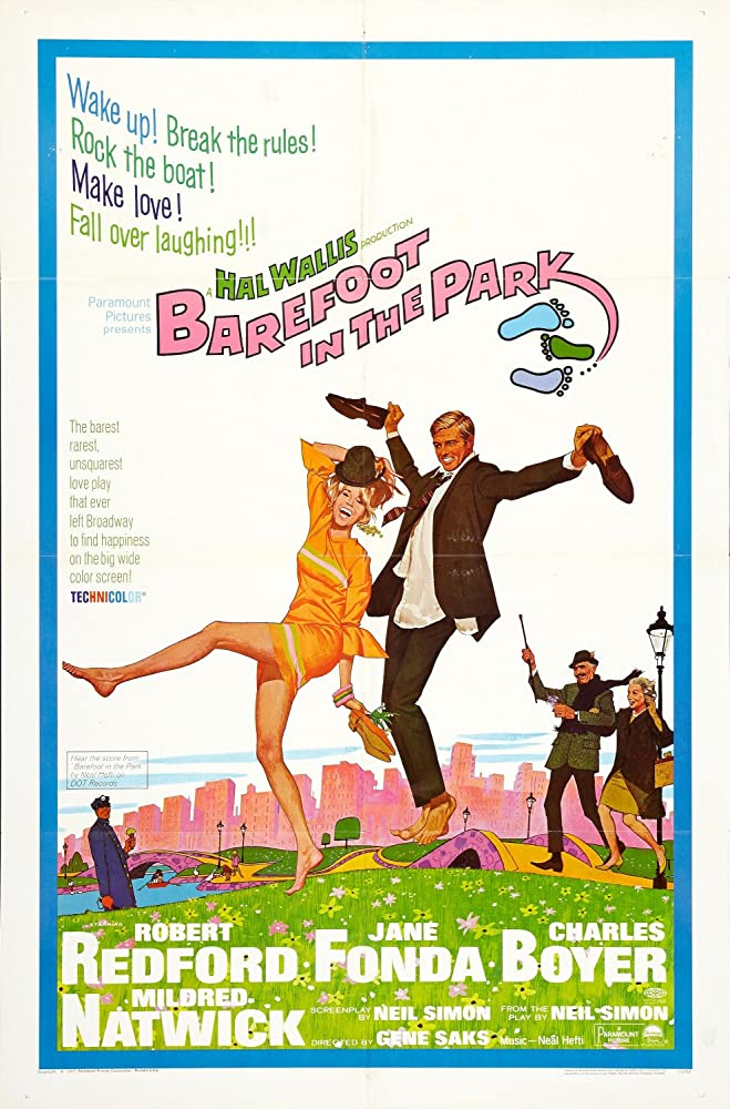 Jane Fonda, Robert Redford, Charles Boyer, and Mildred Natwick in Barefoot in the Park (1967)