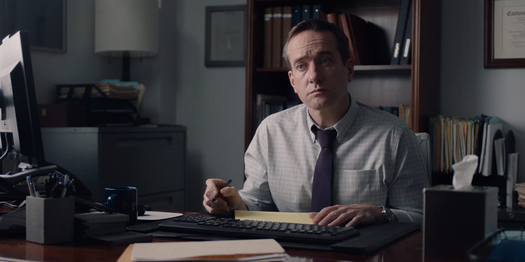 Matthew Macfadyen in The Assistant (2019)