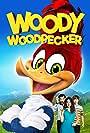 Timothy Omundson, Eric Bauza, Jordana Largy, and Graham Verchere in Woody Woodpecker (2017)