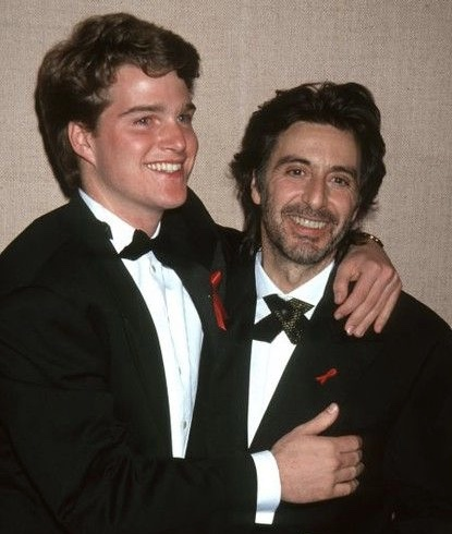 Al Pacino and Chris O'Donnell at an event for Scent of a Woman (1992)