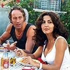 Sabrina Ferilli and Piero Natoli in Ferie d'agosto (1996)