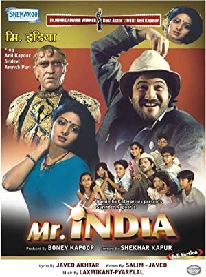 Javed Akhtar Mr. India Movie