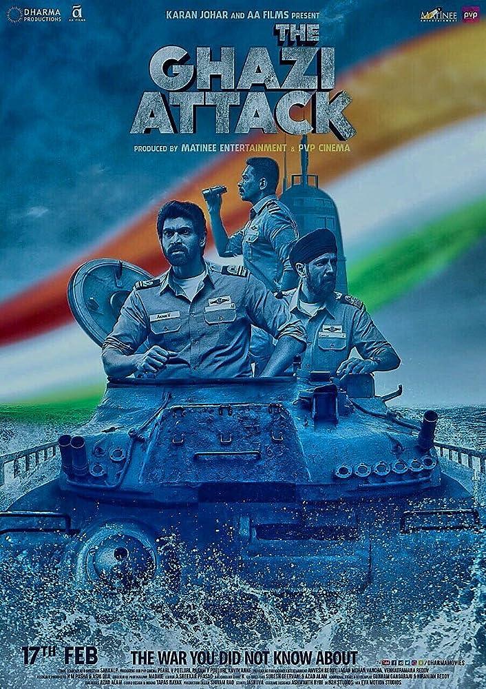 The Ghazi Attack 2017 Hindi Movie BluRay