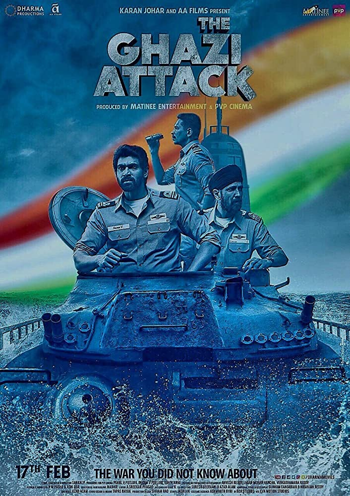 The Ghazi Attack 2017 Hindi Movie 720p BluRay 900MB