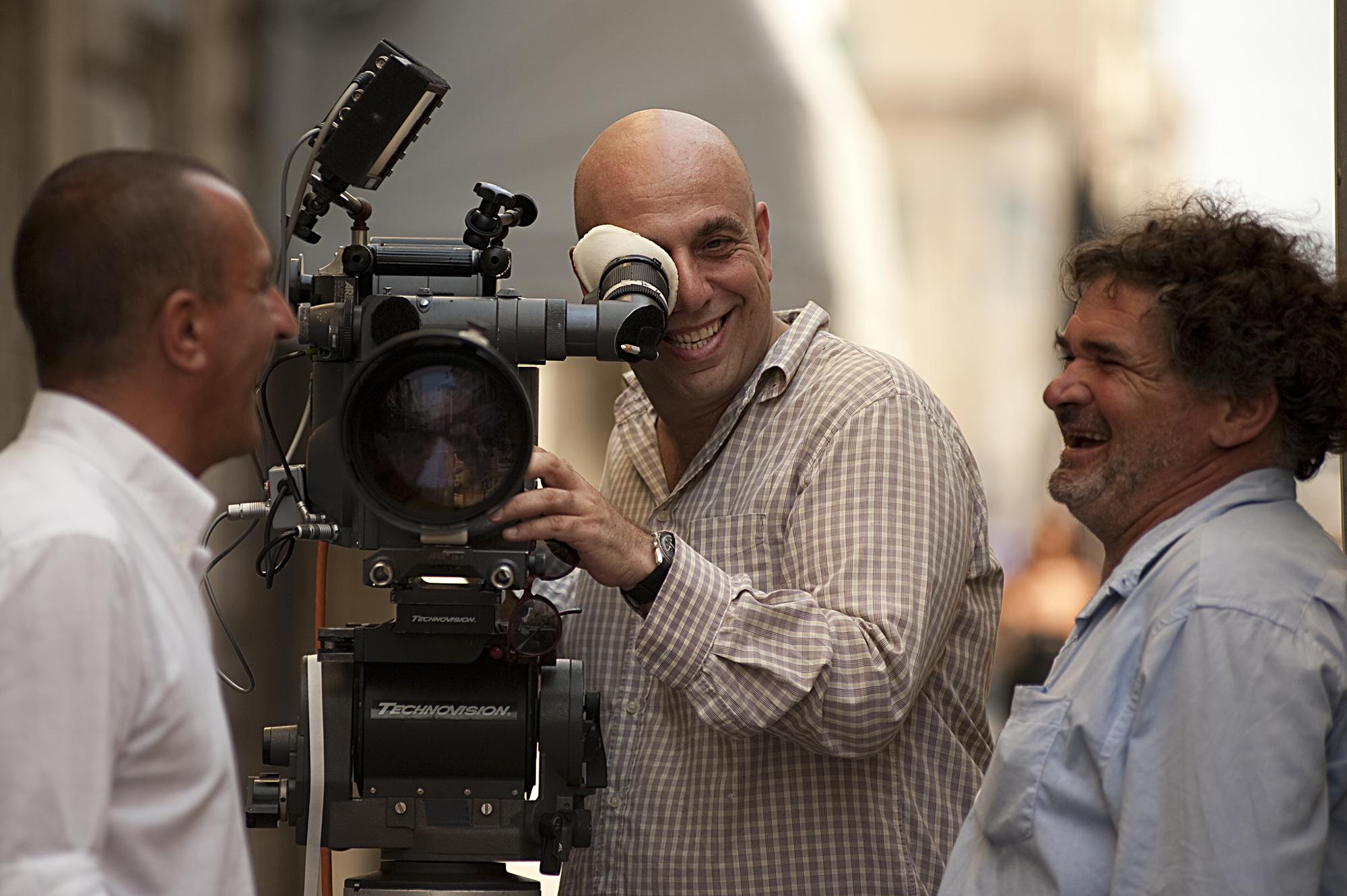 Nicola Pecorini and Paolo Virzì in La prima cosa bella (2010)