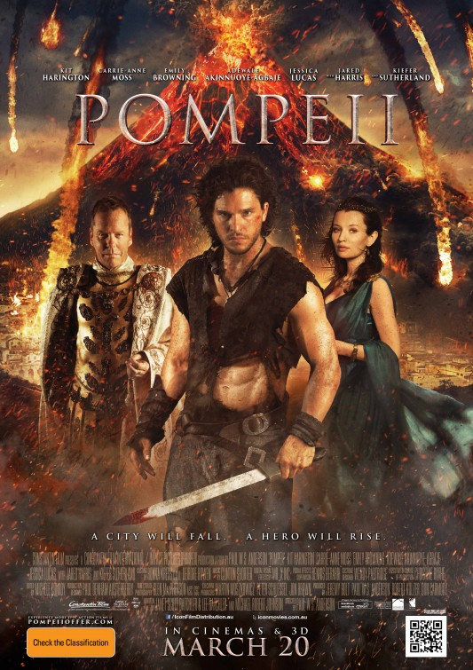 Pompeii 2014 Hindi ORG Dual Audio 720p BluRay ESubs 880MB x264 AAC
