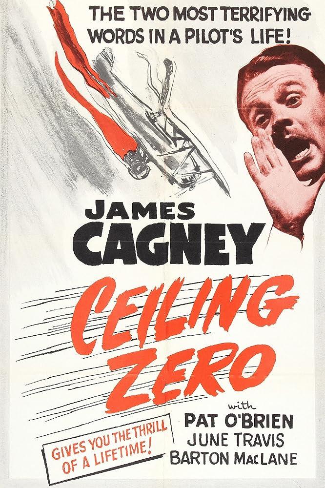 James Cagney in Ceiling Zero (1936)