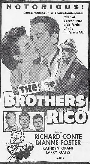 Film-Noir The Brothers Rico Movie