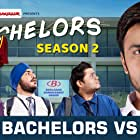 Shivankit Singh Parihar, Jitendra Kumar, Jasmeet Singh Bhatia, and Badri Chavan in TVF Bachelors (2016)