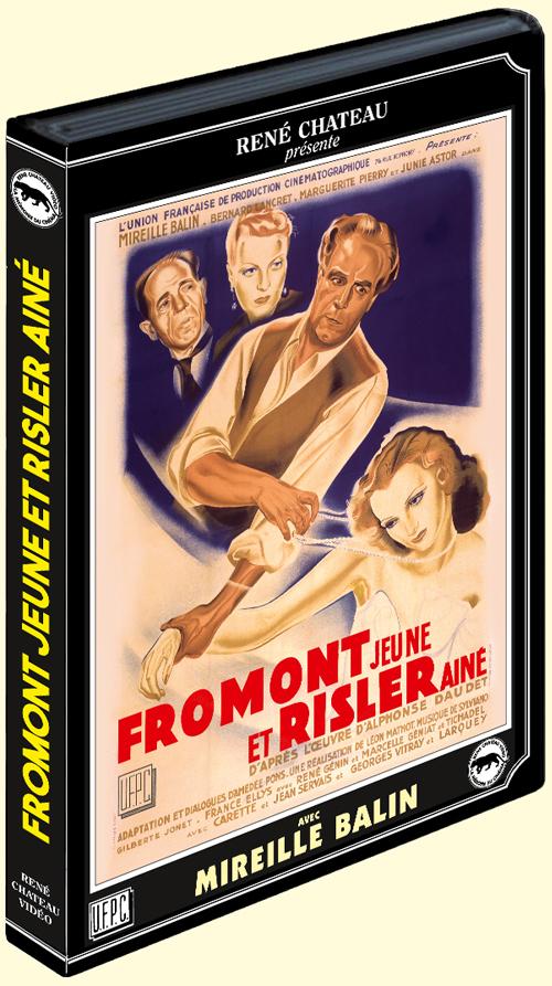 Junie Astor, Mireille Balin, Julien Carette, René Génin, Pierre Larquey, and Léon Mathot in Fromont jeune et Risler aîné (1941)