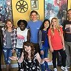 Megan Kenney, Zac Pullam, Jordan Cobb, Charlie Kersh, Jayla Breland, Addie Atwell, and Isabella Steiner in Clique Wars (2014)