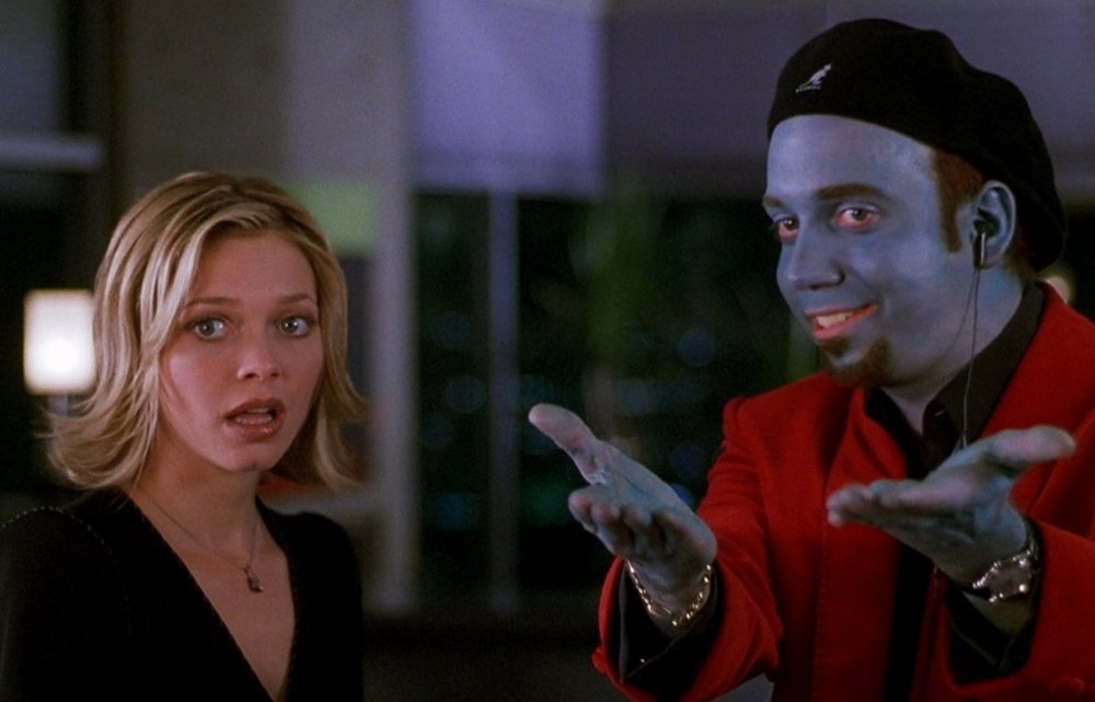 Amanda Detmer and Paul Giamatti in Big Fat Liar (2002)