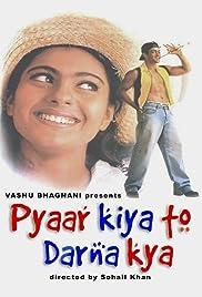 Pyaar Kiya To Darna Kya(1998) Poster - Movie Forum, Cast, Reviews