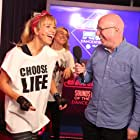 Sara Cox and Ken Bruce in Sounds of the 80s (2014)