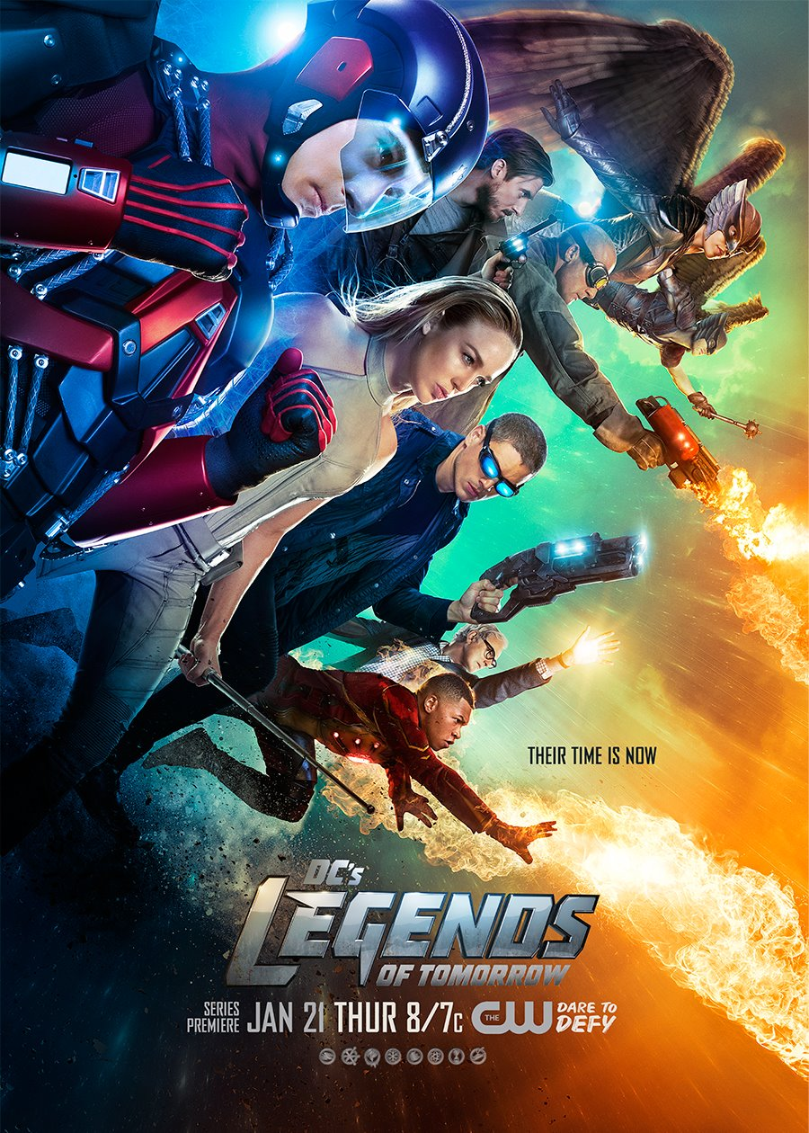 Dc S Legends Of Tomorrow Their Time Is Now Tv Movie 2016