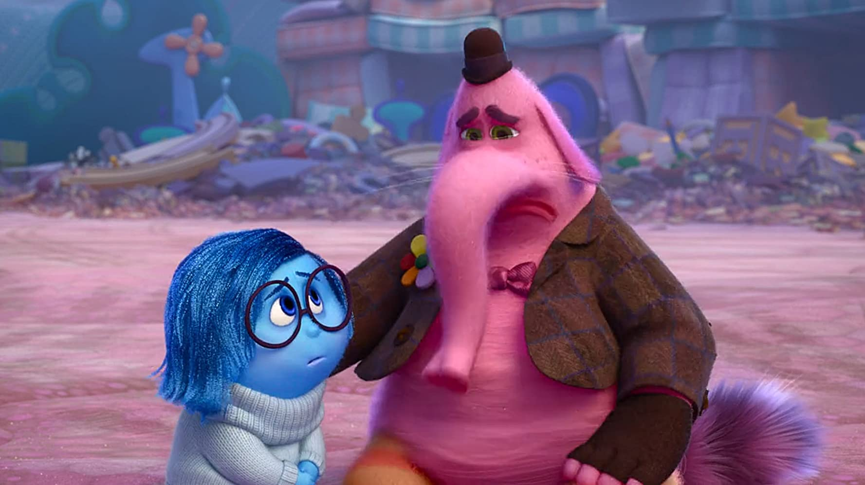 Richard Kind and Phyllis Smith in Inside Out (2015)